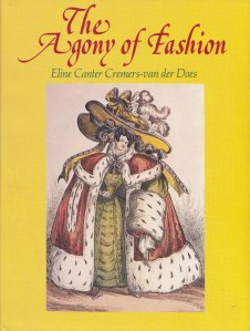 The Agony of Fashion, Cover.